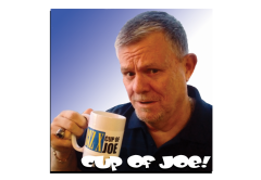 Joe McParland Cup of Joe, outsourcing, Tourism Windsor Essex Pelee Island, Mega Hospital myths,Tax Levy, Lynn Martin, Black Day in July, Pet Peeves, wedding bloopers