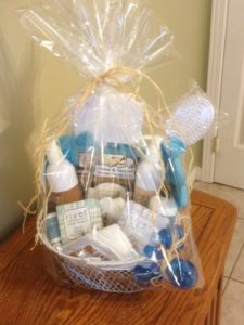 above and beyond gift basket
