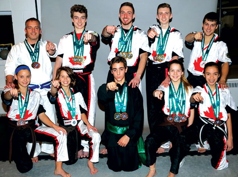 "Team Brunelle - Windsor's Own ""Karate Kids"""
