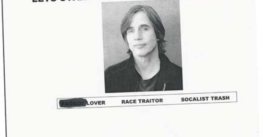 Jackson Browne Flyer - Joe McParland Responds