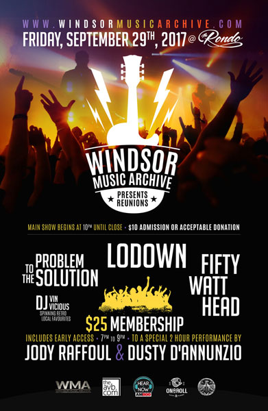 Windsor Music Archive presents REUNIONS