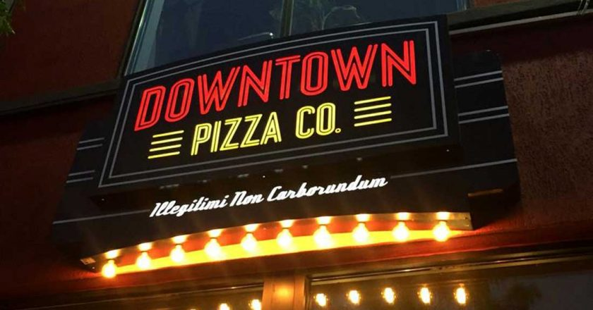 Introducing the Newest Downtown Eatery the Downtown Pizza Co.