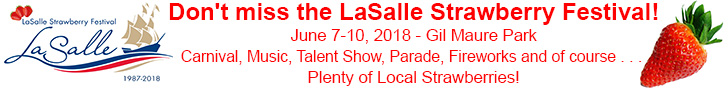 LaSalle Strawberry Festival! Carnival, Music, Talent Show, Parade, Fireworks and of course Plenty of Local Strawberries!