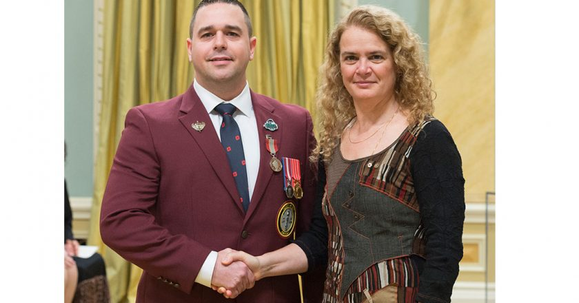 MAY 2018 NEWSFLASH - Windsorite Awarded Sovereign's Medal for Volunteers