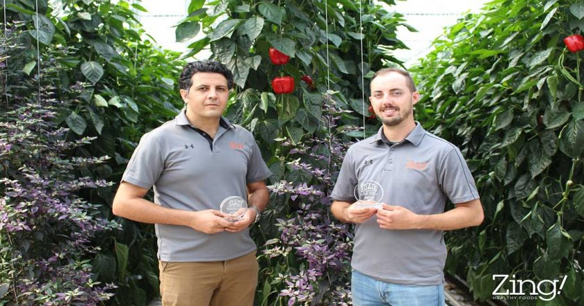 National Award-Winning Orangeline Farms Growers Honoured