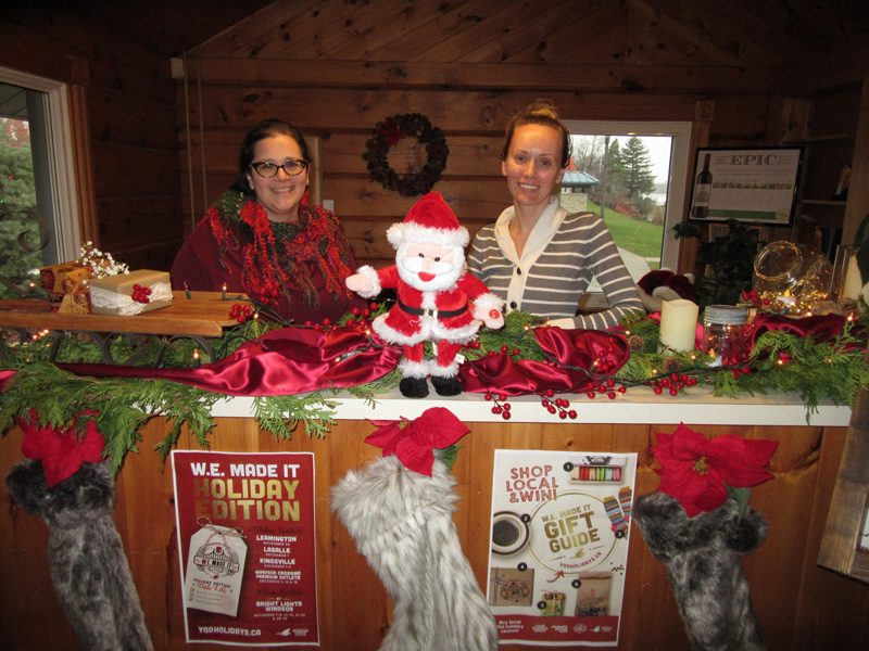 Amherstburg 2018 Holiday House Tours It sure was beginning to look a lot like Christmas in the berg with the annual tours of homes decked out for the holidays, both inside and out.