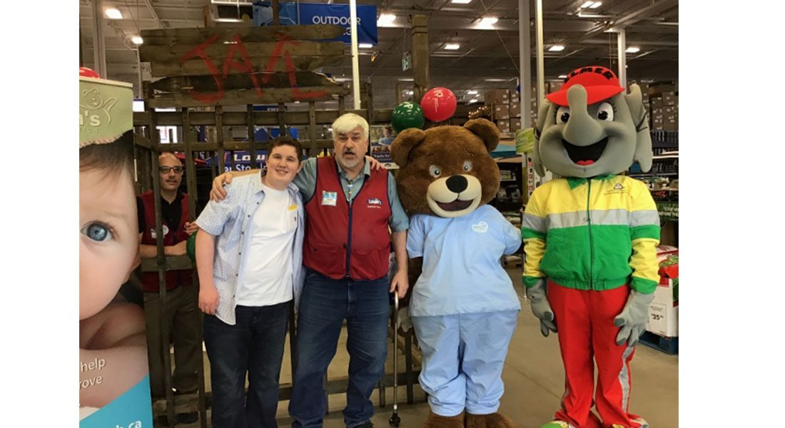LOWE'S EAST WINDSOR FUNDRAISER FOR CHILDREN'S MIRACLE NETWORK